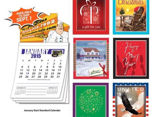 Tear Off Real Estate Calendar Magnets make Unique Marketing Gifts