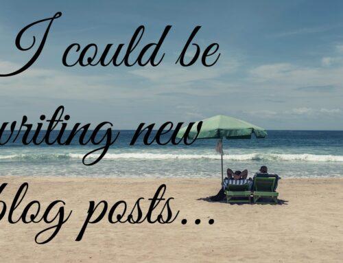 Revive Old Blog Posts   Chapter #1