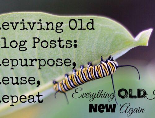 Revive Old Blog Posts   Chapter #2